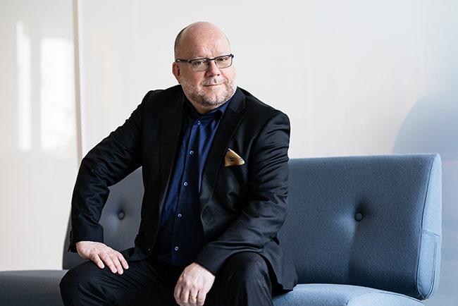 Porträttbild Harald Petersson, kassaföreståndaren på Unionens a-kassa.