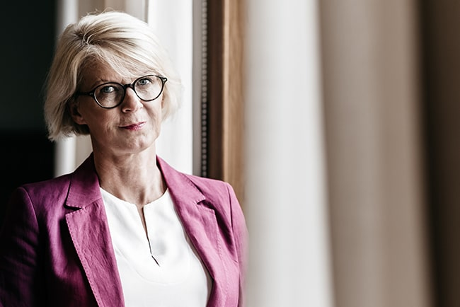 Moderaternas ekonomiskpolitiska talesperson Elisabeth Svantesson.