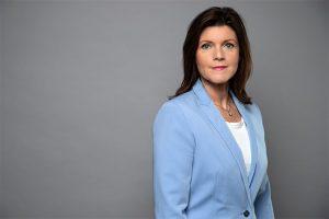 pressbild på arbetsmarknadsminister eva nordmark